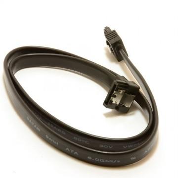 SATA 3 Locking Plug to Right Angle Plug 6Gb High Speed Cable...