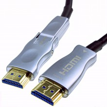 Detachable Plug HDMI 2.0 Active Optical Cable AOC for Wall Installation 4K  50m