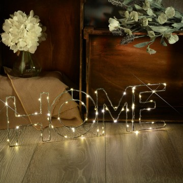Warm White HOME Indoor Decoration Battery Powered LED Light Small