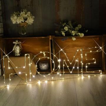 Warm White HOME Indoor Decoration Mains Powered LED Light Large