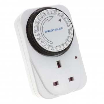 7 Day Weekly Programme Mechanical Timer Switch for UK Power Sockets