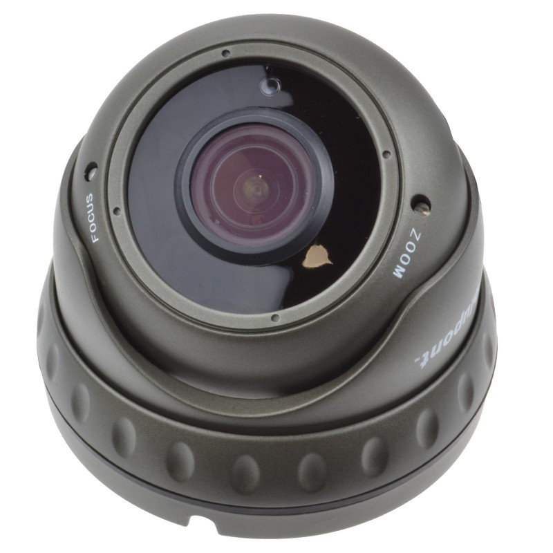 STARVIS Varifocal 1080P CCTV 4 in 1 Security Dome Camera 30m IR Grey