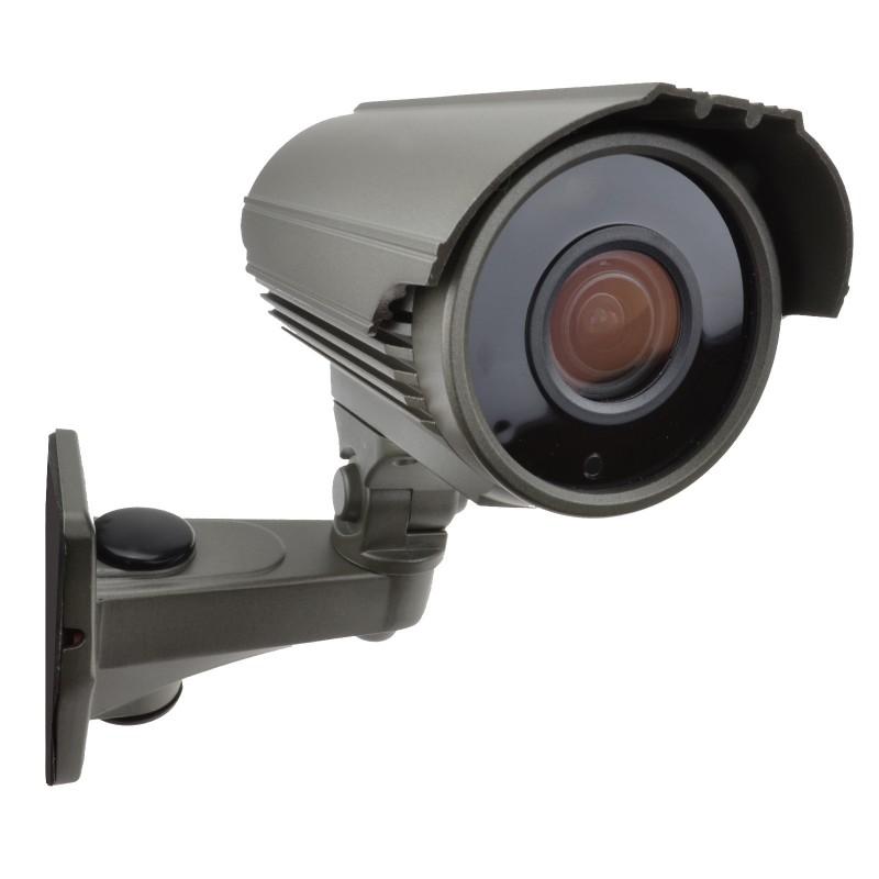 5MP Varifocal SONY CMOS 4 in 1 TVI AHD CCTV Bullet Camera 40m IR Grey