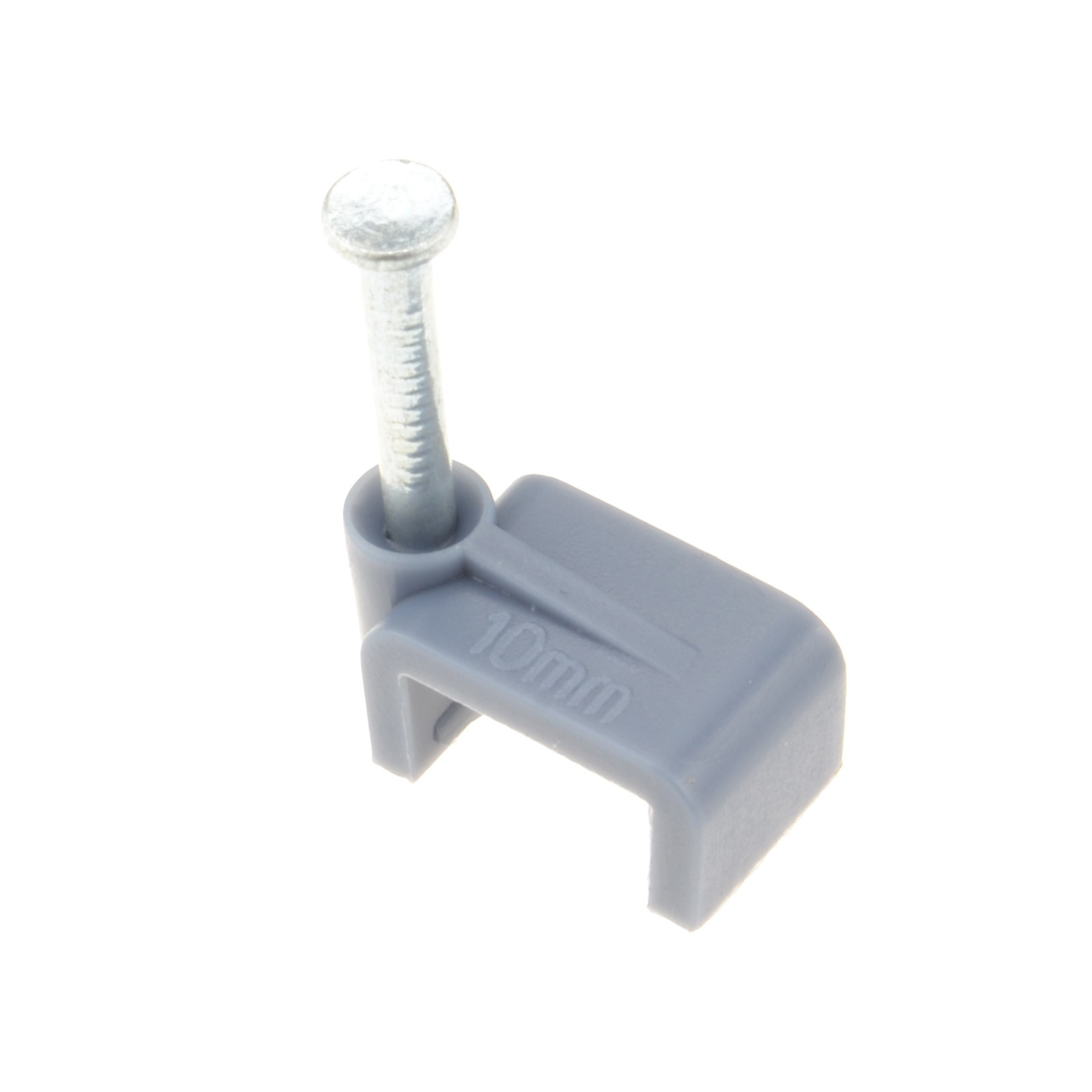 2 X Cable-Tex Flat cable clips 100 Pack for 2.5mm twin /& earth Grey