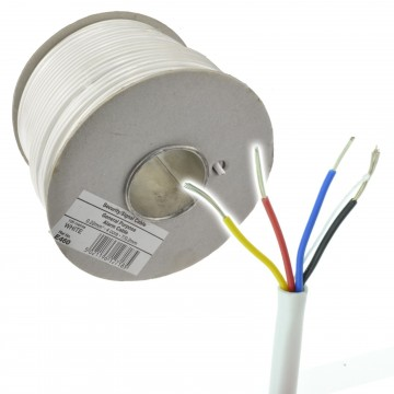 4 Core COPPER Signal Cable for Alarm or Intercom Systems 100m...
