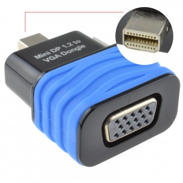 Mini-DisplayPort 1.2 to VGA Female Socket Video Converter Adapter