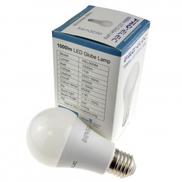 LED E27/ES GLS 11W 1000lm 6500k Lamp Screw-in Bulb Daylight White