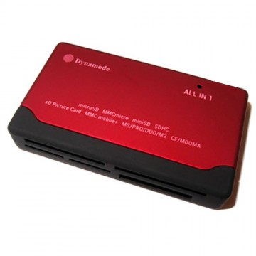 Dynamode External USB All-in-One Card Reader SD SDHC MicroSD...