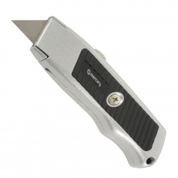 Auto-Locking Safety Box / Craft Knife with Rubber Grip and 3...