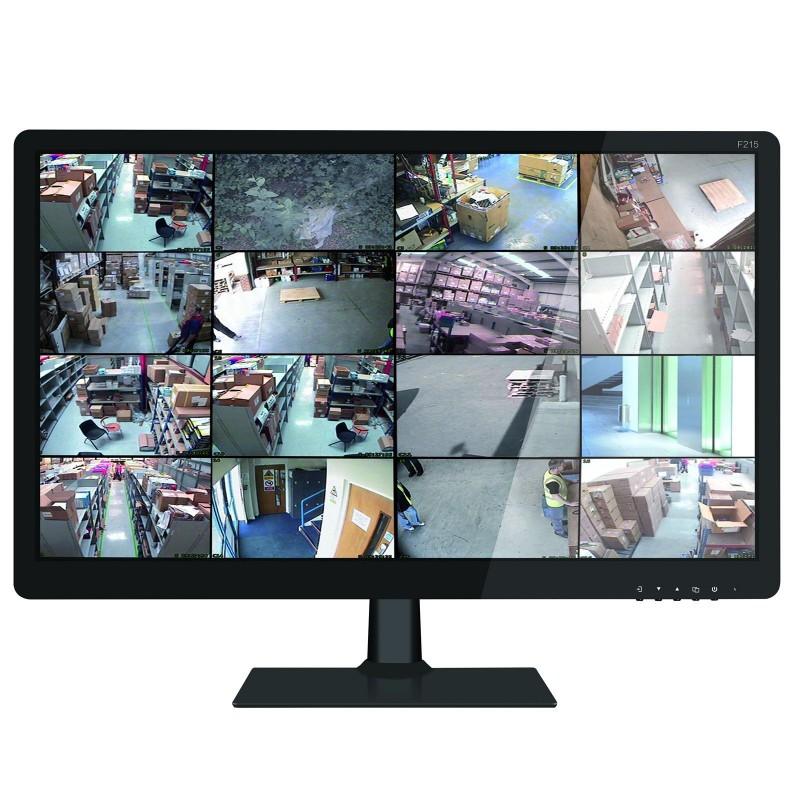 LED Monitor 21.5 inch Screen with 1080 HDMI VGA USB & BNC for CCTV Display