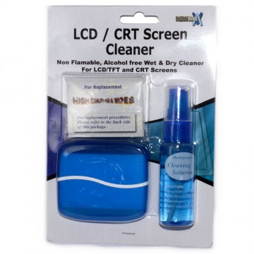 NEWLINK LCD/CRT Screen Cleaner Fluid Wet Wipe and Cloth