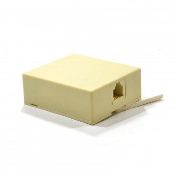 Telephone Cable 4 Wire Screw Termination Block to 4P4C RJ11...