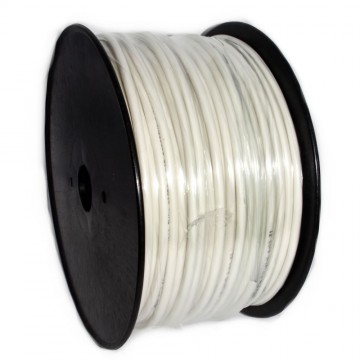 Alarm Security Cable 6 Core CCA Reel White 100m