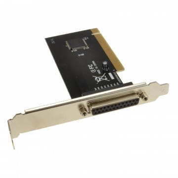 Dynamode Parallel 1 Port Printer 25 pin PCI Internal Adapter Card