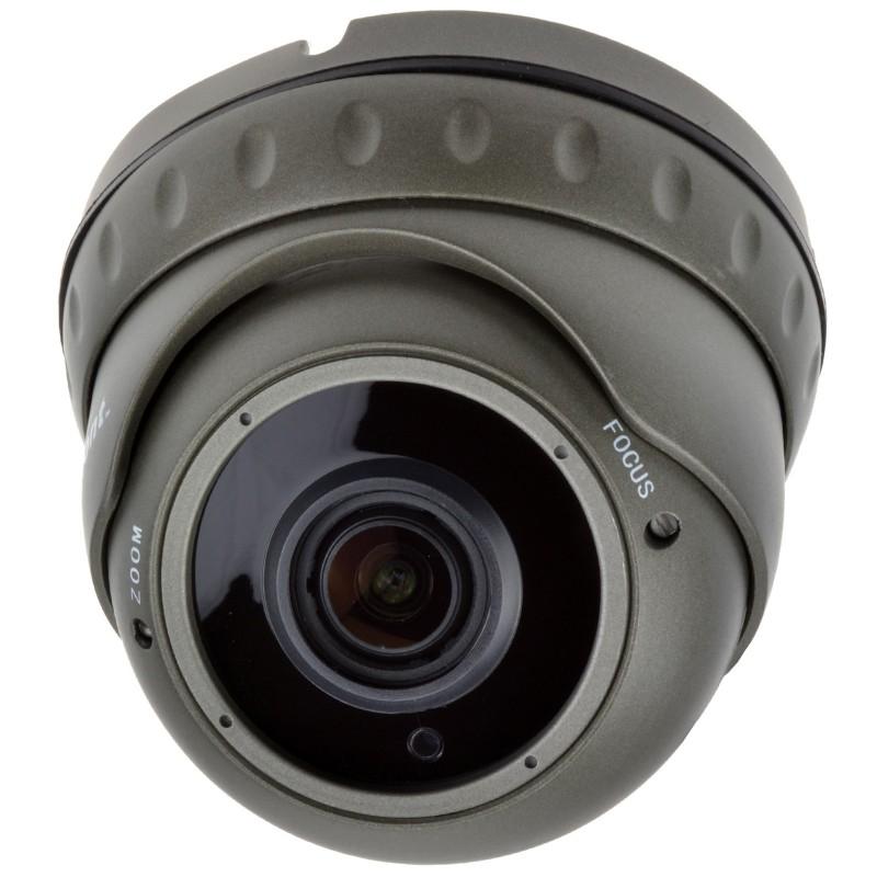 Varifocal SONY CMOS 1080 4 in 1 CCTV Security Dome Camera 30m IR Grey