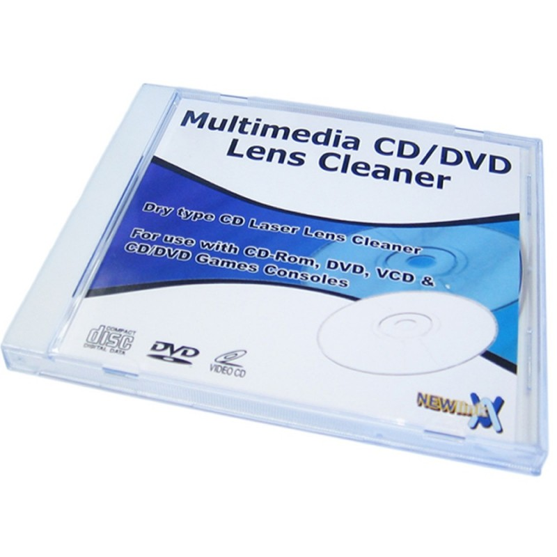 Multimedia Dry Type CD/DVD Lens Cleaner Disk