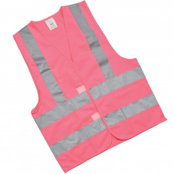High Visibility Reflective Warehouse Safety Waistcoat in Pink...