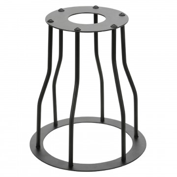 Decorative Vintage BELL Lamp Cage Shade Black for Light Pendant