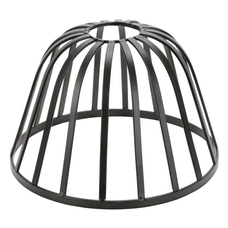 Decorative Vintage DOME Lamp Cage Shade Black for Light Pendant