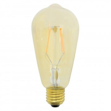 ST64 Edison Style LED Filament Decor Light Bulb 4W E27 Dimmable