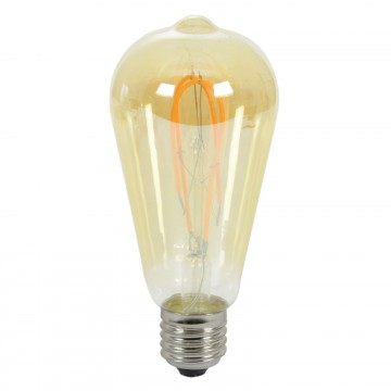 ST64 Edison Style Loop LED Filament Decor Light Bulb 5W E27