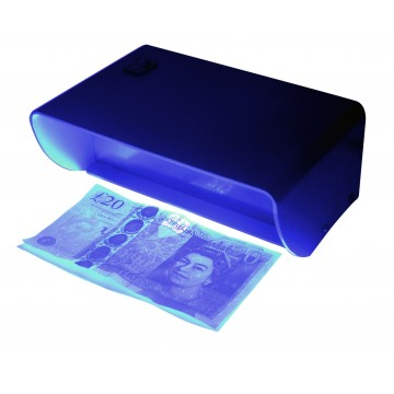 Eagle Forge Money Bank Note Security Checker with UV Black Light UK