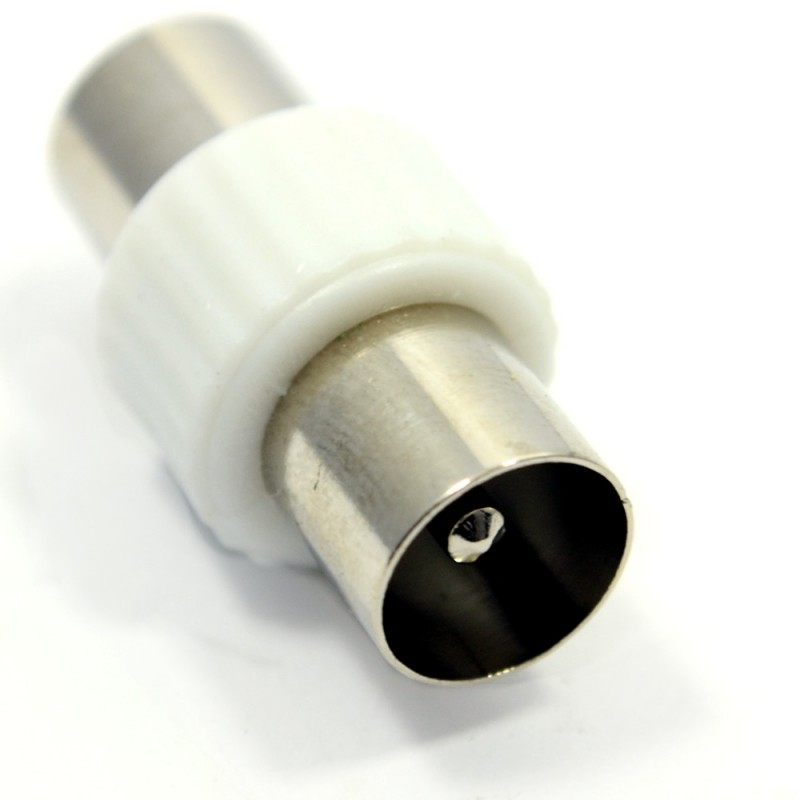 EAGLE Coaxial Male To Male Joiner Coupler Adapter Plug