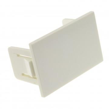 Floor Box Blanking Plate for 6C Data Module 07789 or 06298 WHITE