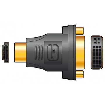 Mercury Master Class DVI-D Female Socket To Male HDMI Plug...