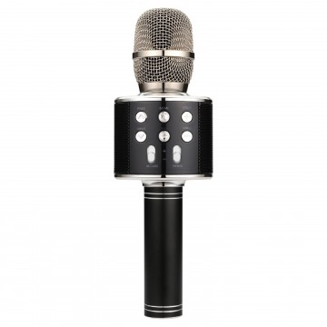 Karaoke Party Bluetooth Microphone MicroSD FM Tuner & Speaker...