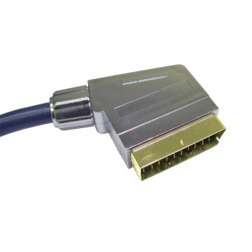 Newlink 99.99% OFC Scart to Scart Shielded AV Cable 10m