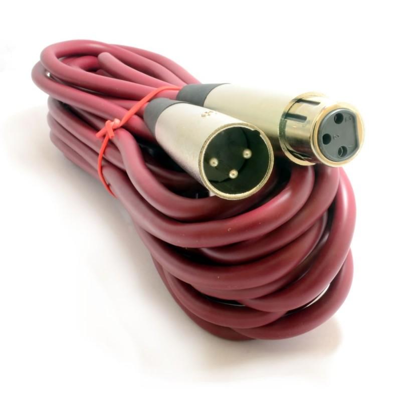 XLR Lead High Quality OFC Digital Signal Microphone Audio Cable 6m