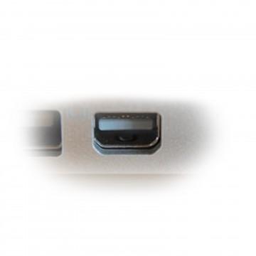 CHROME HQ 5mm TOS Link Optical Digital Audio Cable Lead 3m