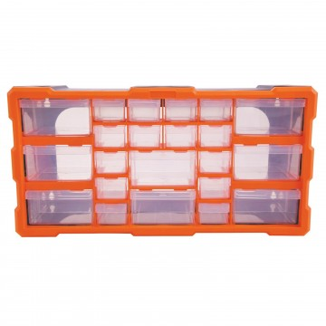 22 Drawer Parts Storage Cabinet Tool Box for...