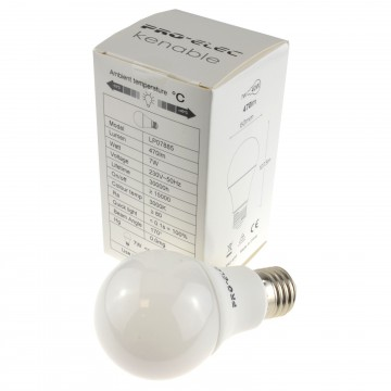 LED E27/ES GLS 7W 470lm 200Degree 3000k Lamp Screw-in Bulb...