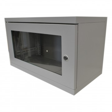 Data Cabinet for Rack Mounted Networking Small 6U Wall...
