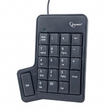 USB Portable Numeric Keypad Calculator with Tab Key for Laptops