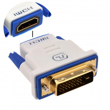 PRO 4K HDMI Socket to DVI DUAL LINK 2560 x 1440 High Speed...
