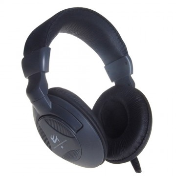 Deluxe Headset with Clip-on Microphone & Vol Control