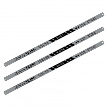 Heavy Duty Bi-Metal 300mm Blades for Hacksaw 009950 3 Pack