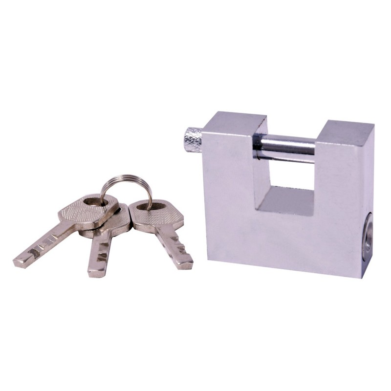 Heavy Duty Roller Shutter/Sheds/Gararges Monobloc Square Padlock 50mm