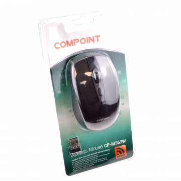 Compoint M363W Wireless 2.4GHz 3 Button Optical Mouse with...