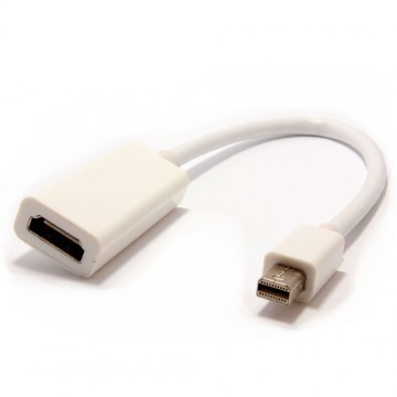 Mini-DisplayPort Adapter Cable to HDMI Socket Adapter HD and...