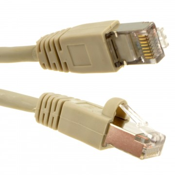 Network FTP CAT6 Shielded LSZH GigaBit Ethernet Lead Cable 15m