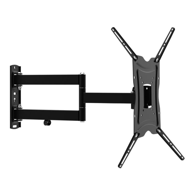 Dual Pivot Tilt & Swivel TV Wall Bracket 13-47inch TVs Vesa 400 x 400