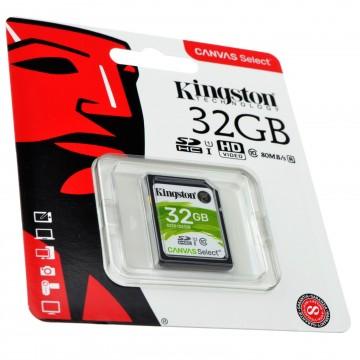 Kingston Class 10 SD Storage Memory Card U1 Cameras/File Backup 32GB