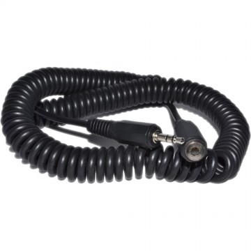 COILED 3.5mm Stereo Jack to Socket Headphone Extension Cable Lead 4m