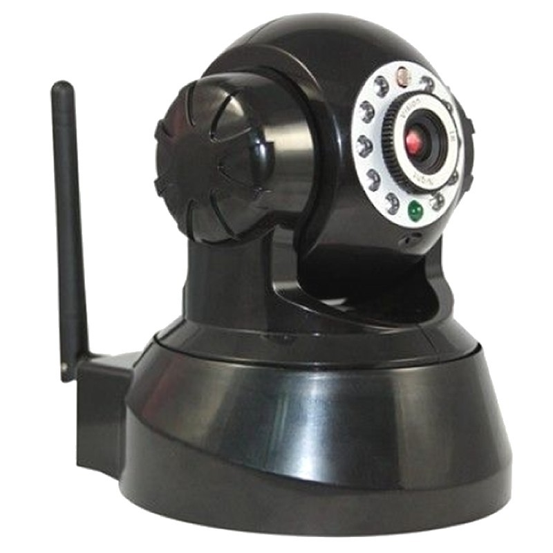 Wireless IPCam Pan Tilt Indoor CCTV Security IP Camera Webcam 300k