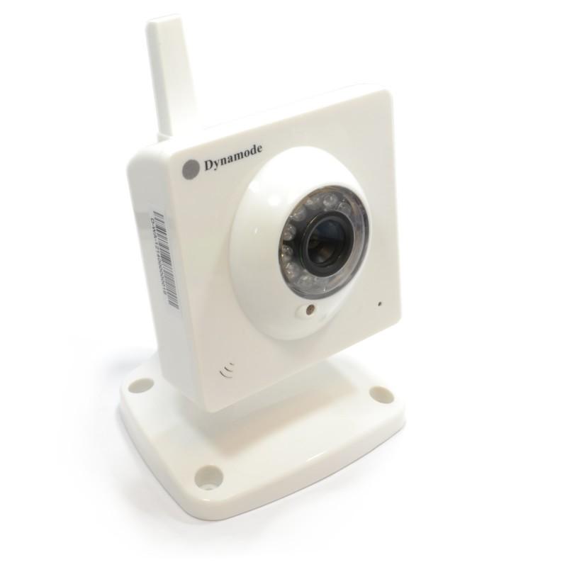 Wireless IP Tilt Pan Zoom Indoor Camera Monitor Smartphone Ready Mic