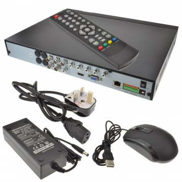 B-Sec 4 Channel AHD CVI TVI IP CCTV Recorder 1080p 5MP 8MP Cams